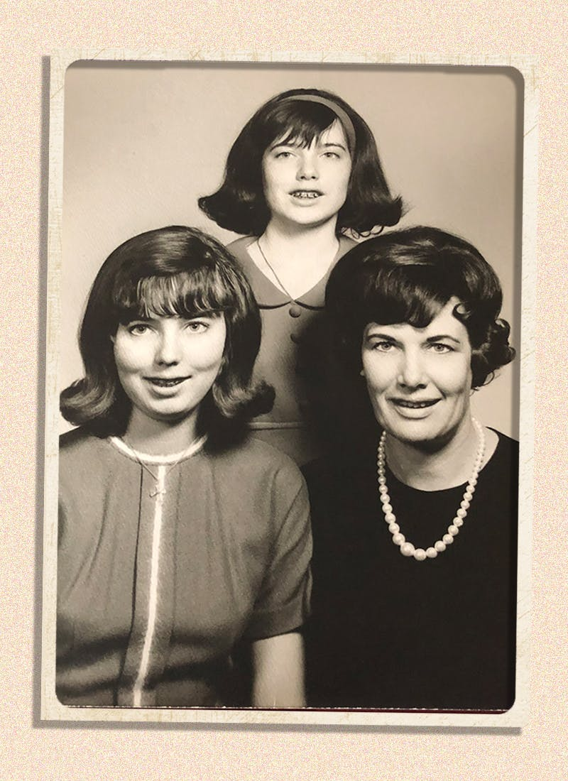 west-texas sisters, daughter and mom