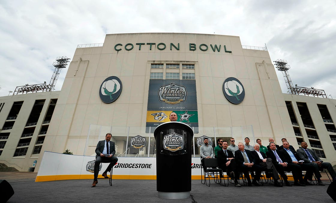 winter classic cotton bowl in dallas
