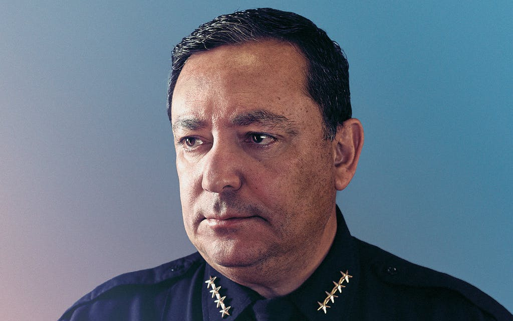 Art Acevedo Can't Say That, Can He?