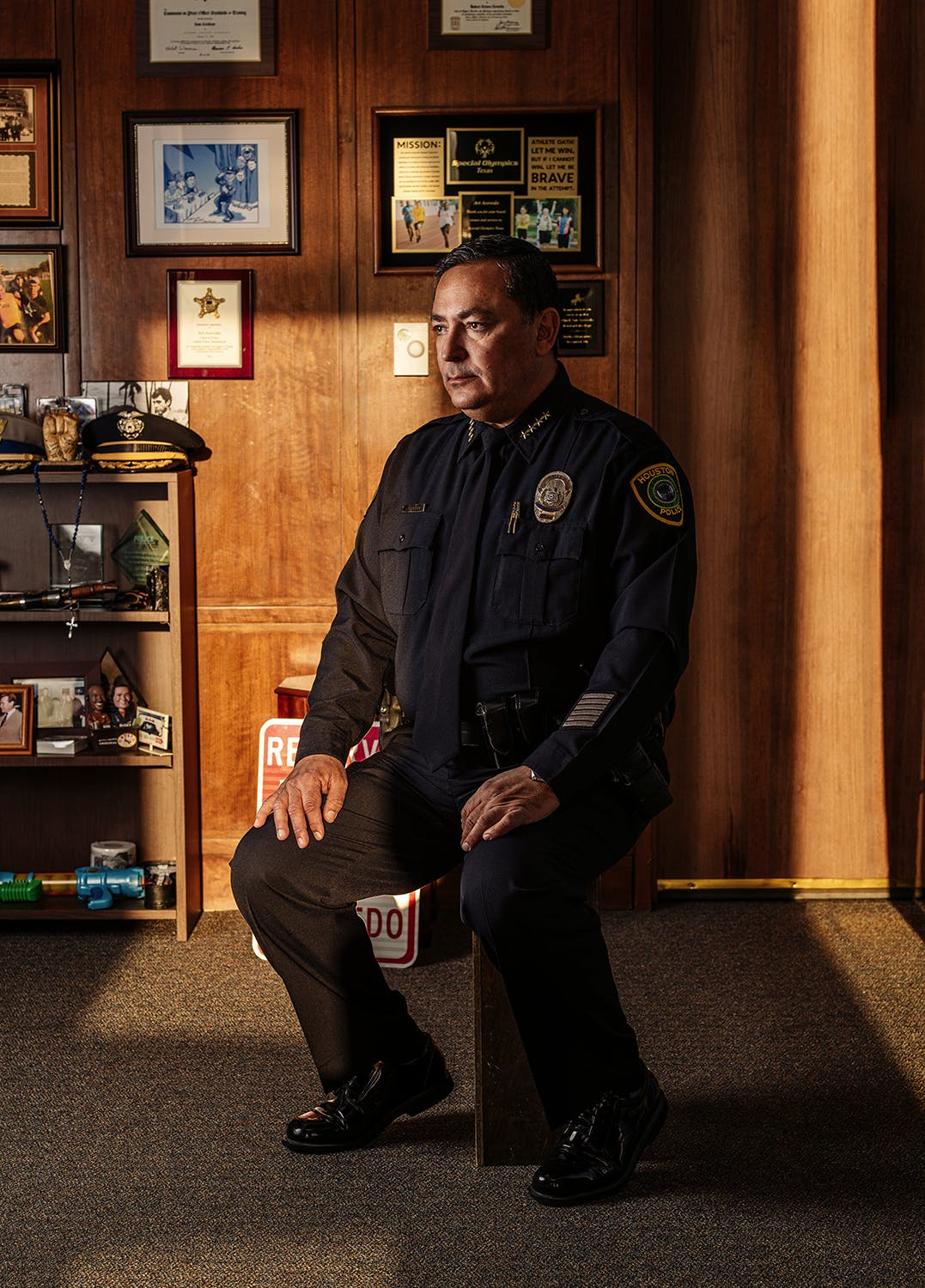Art Acevedo Houston Police Chief