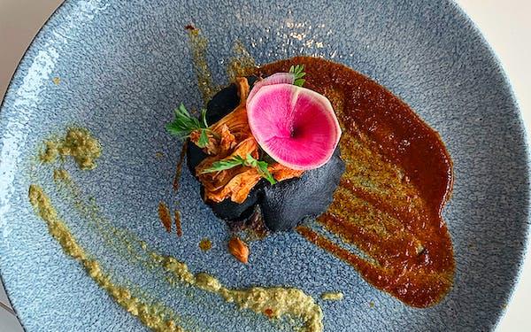 Xochi-Infladita-blue-corn-with-watermelon-radish