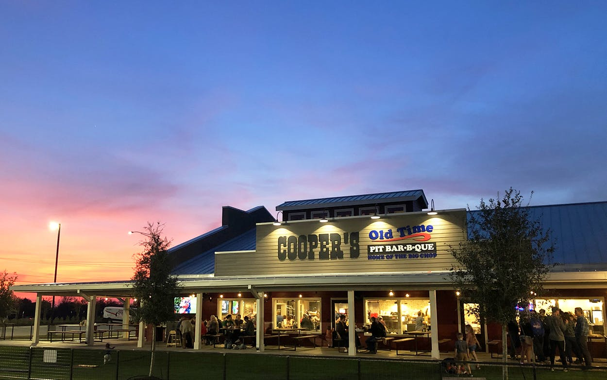 Coopers BBQ Expansion