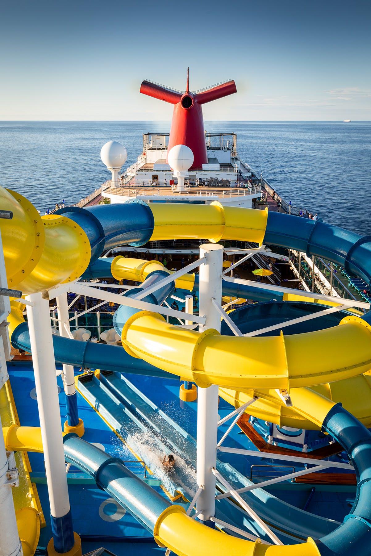 Carnival cruise slide