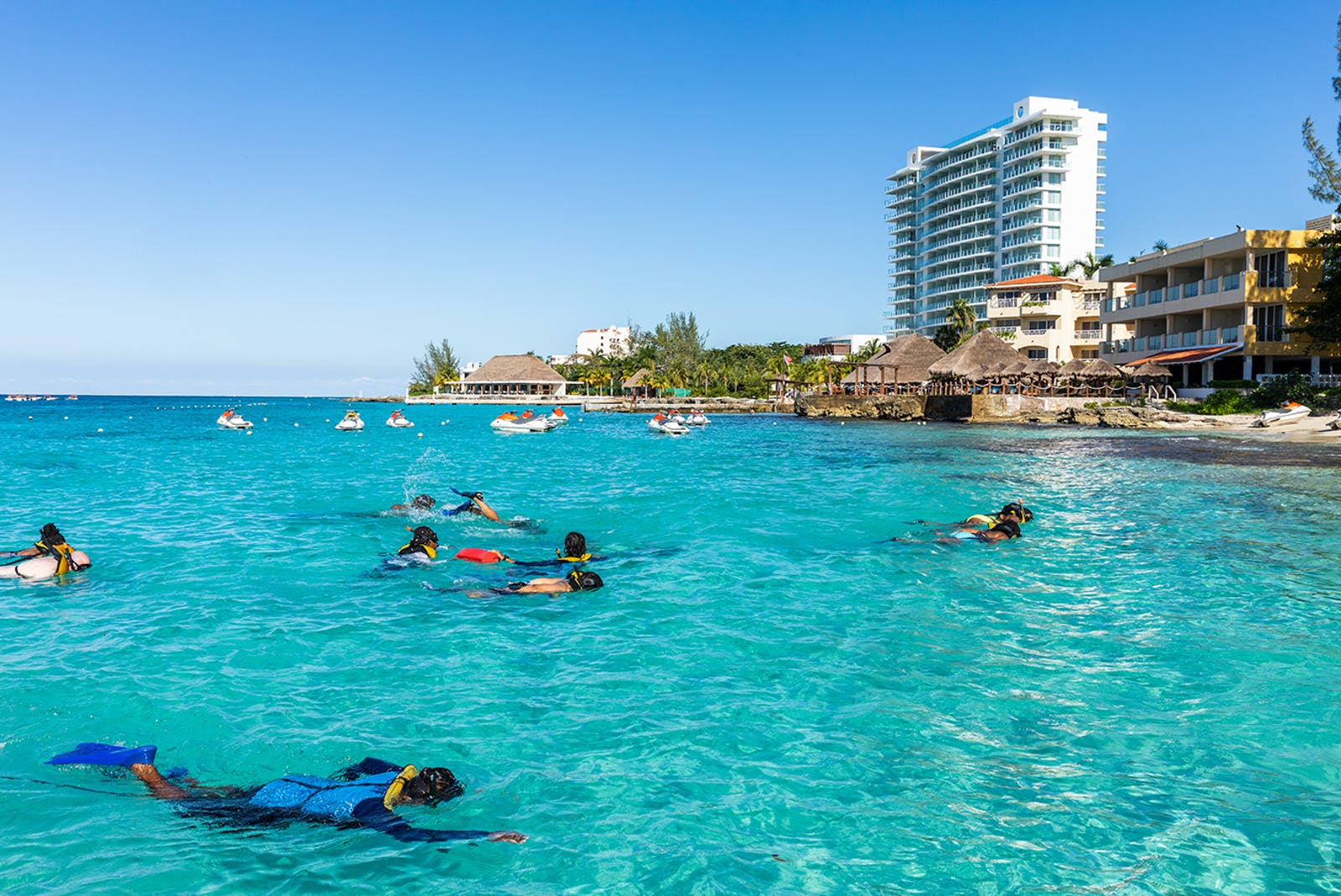 Carnival cruise snorkeling in Cozumel