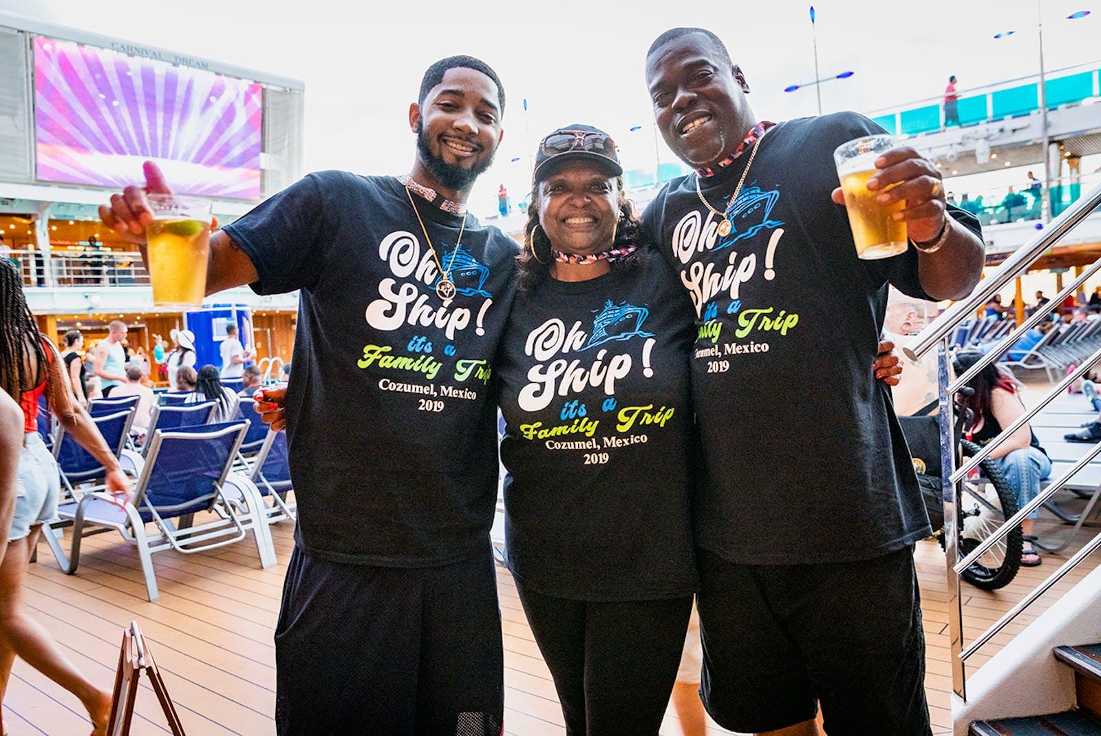 Carnival cruise t-shirts