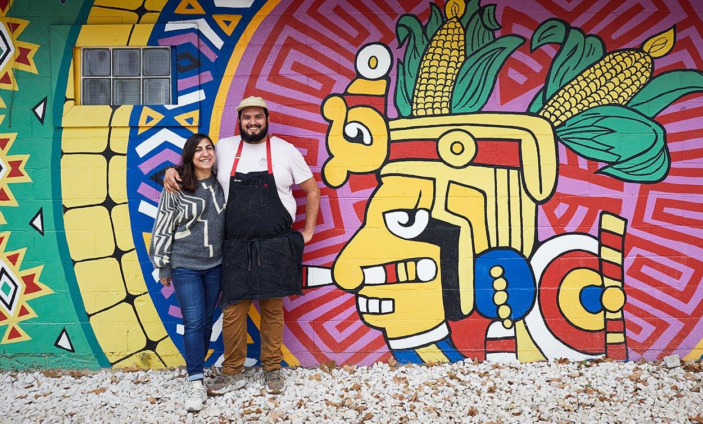 Chefs at Nixta taqueria in Austin Texas
