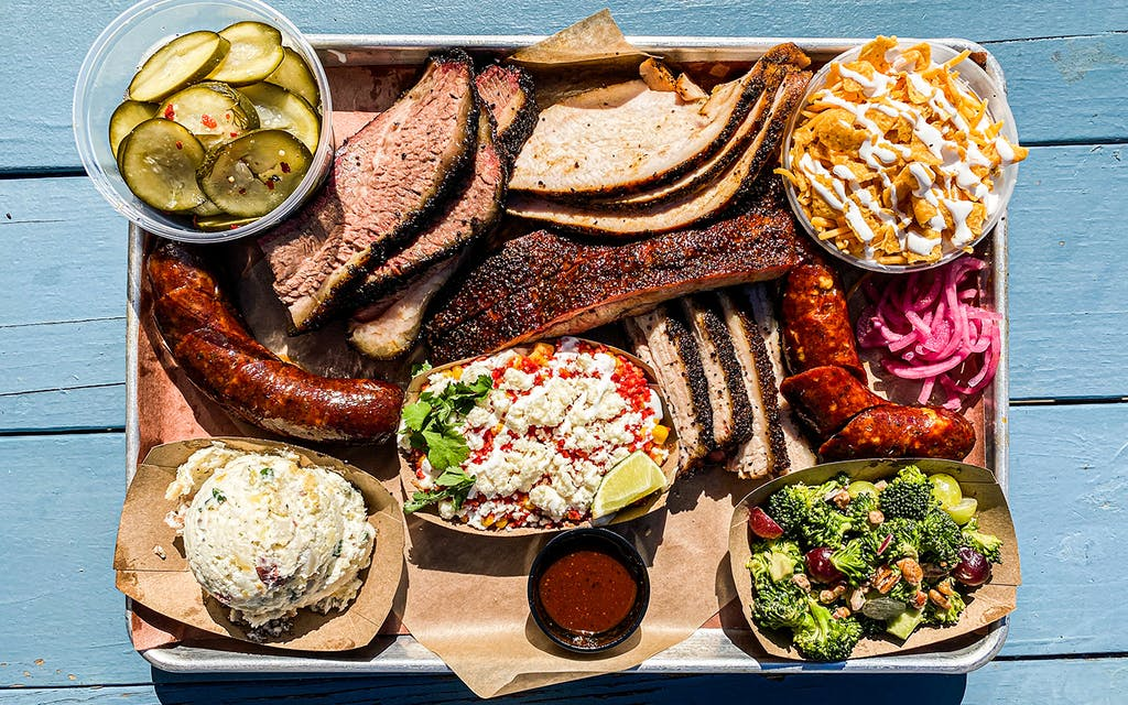 """Dayne's Craft Barbecue's """"Bacon Brisket"""" and Sausages Are Worth the Wait"""