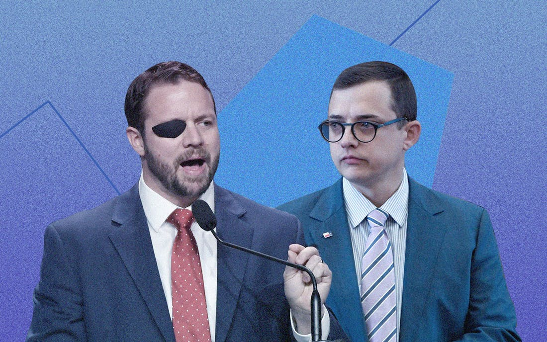 Dan Crenshaw and Briscoe Cain Make Election Season Weird– Texas ...