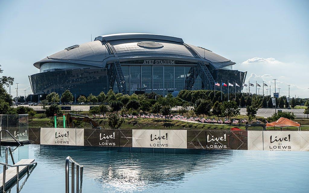 The Texas Rangers' Shiny New Stadium Embodies the 'New Arlington'