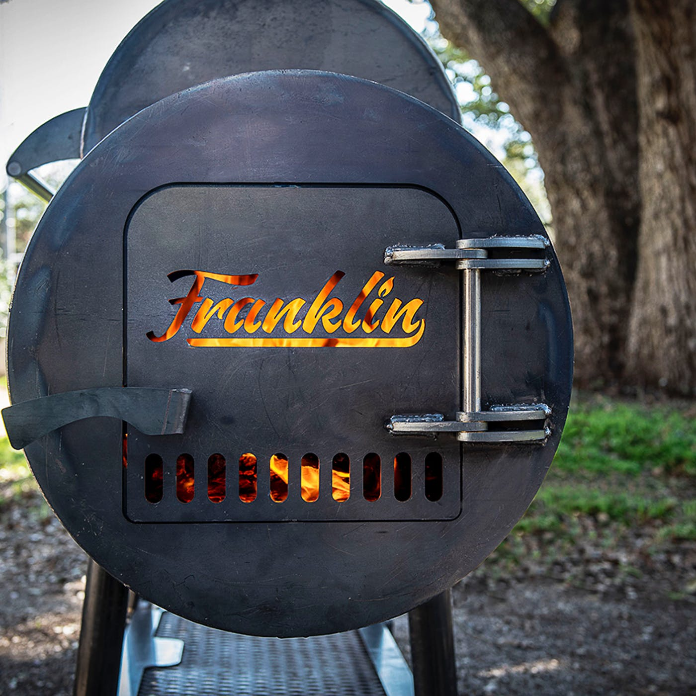 Franklin Barbecue Pits Begins Building