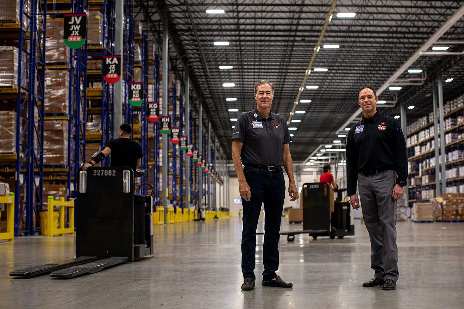 HEB Warehouse in San Antonio