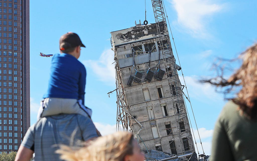 The Leaning Tower of Dallas Was a Metaphor for … Something