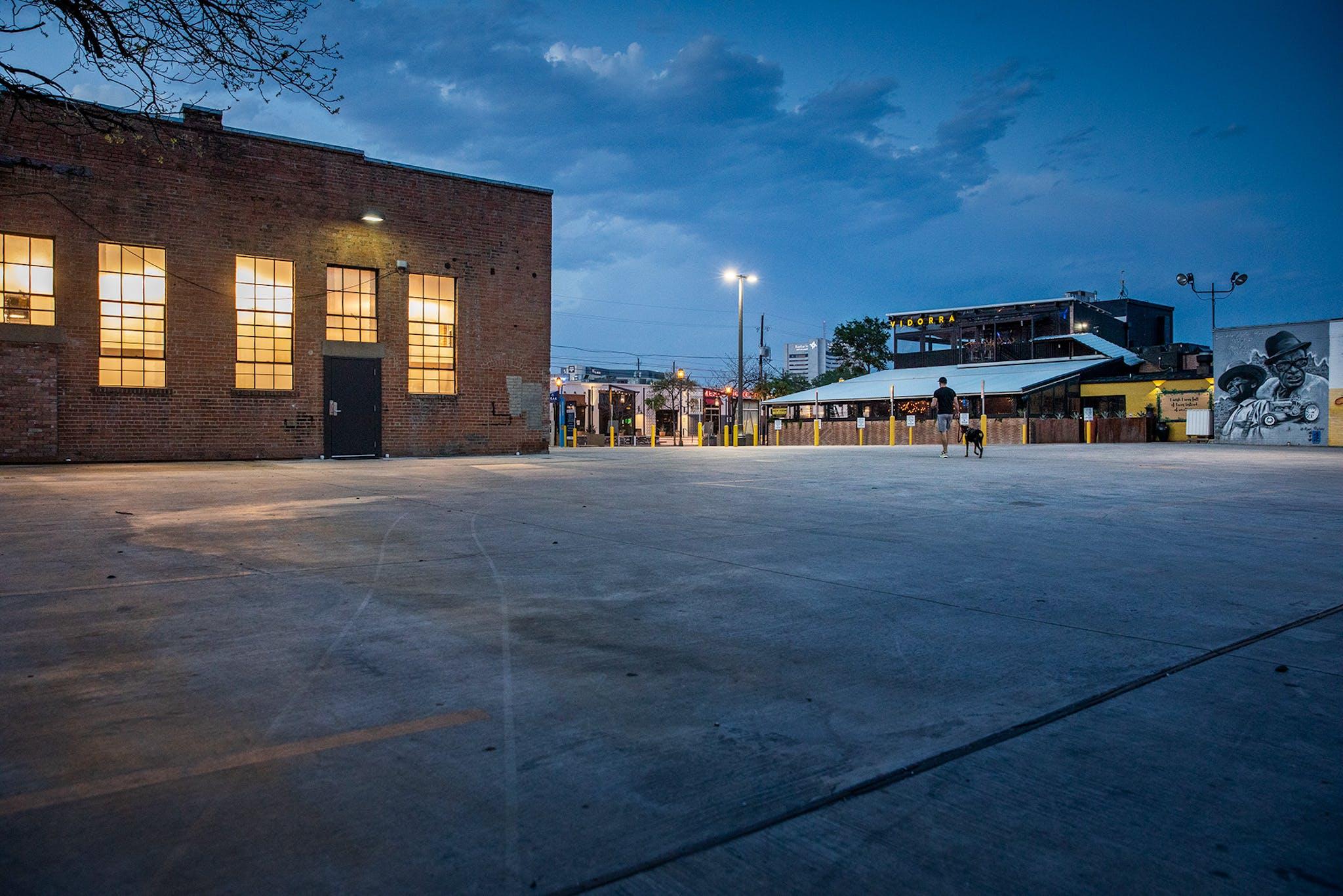 Dallas's Deep Ellum neighborhood, known for its nightlife, has gone quiet.