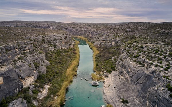 lower pecos river