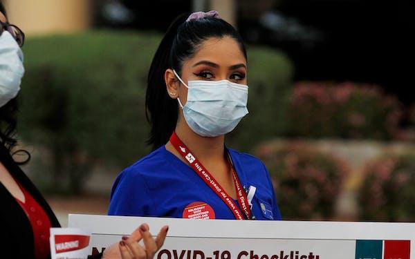 El Paso nurses mask shortage