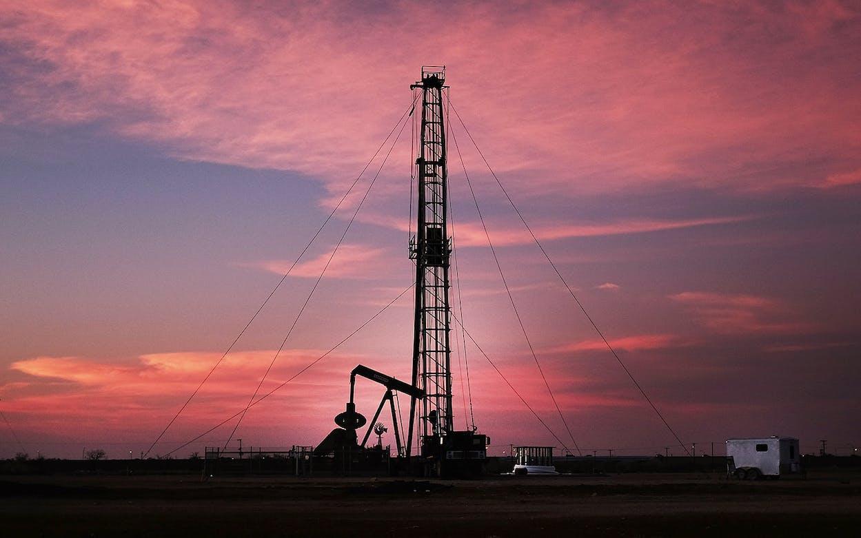 midland oil bust