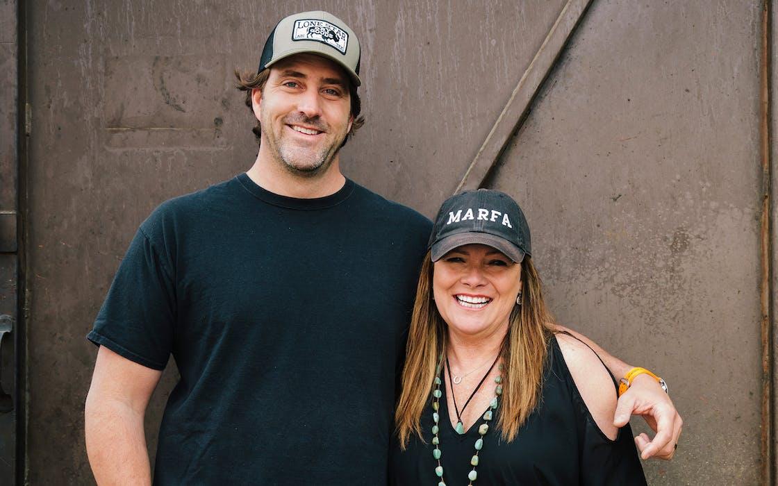 Justin and Diane Fourton.