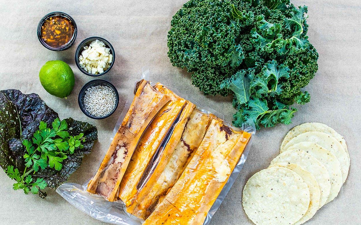 bone marrow tacos kit
