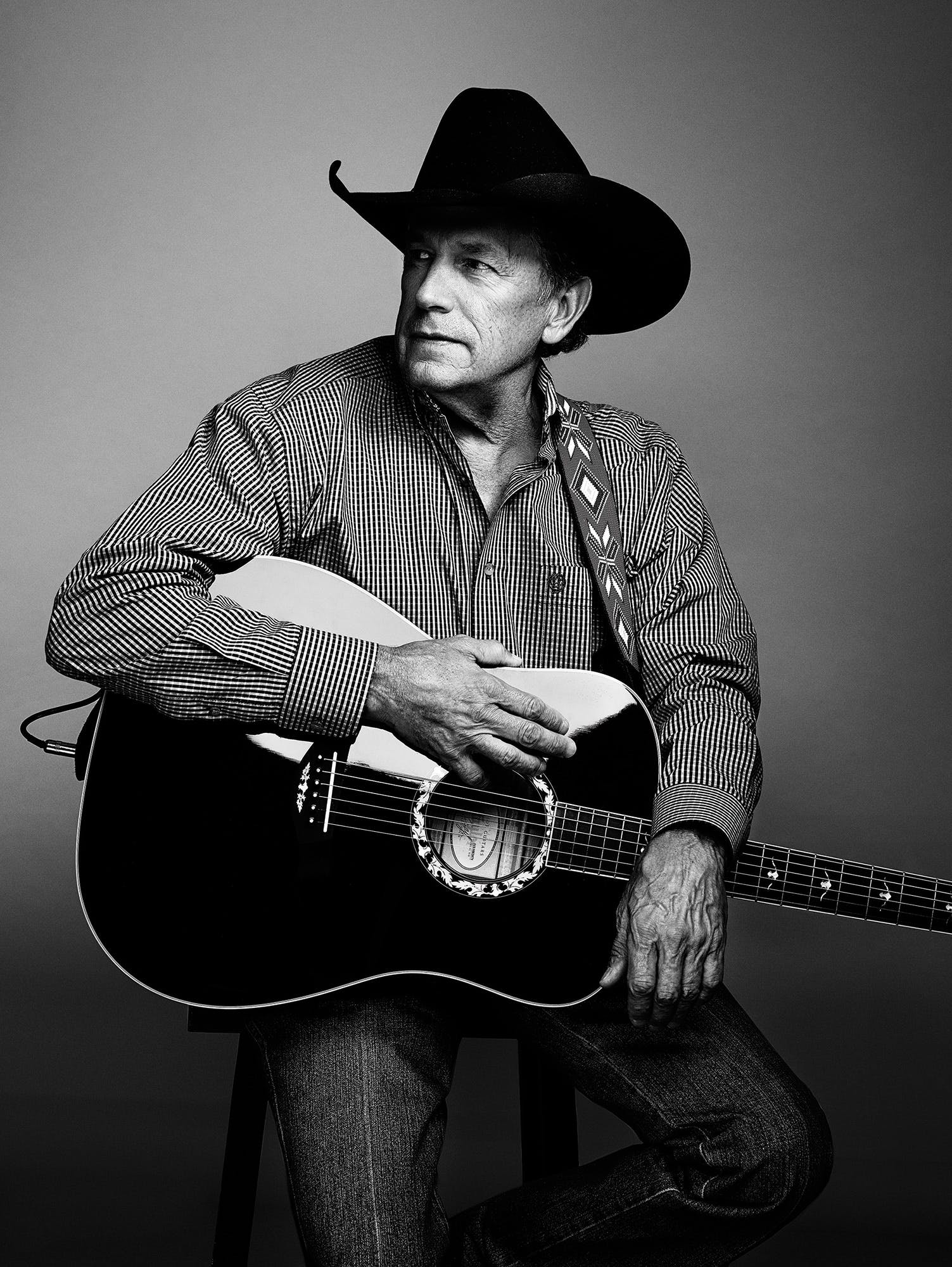 George Strait portrait
