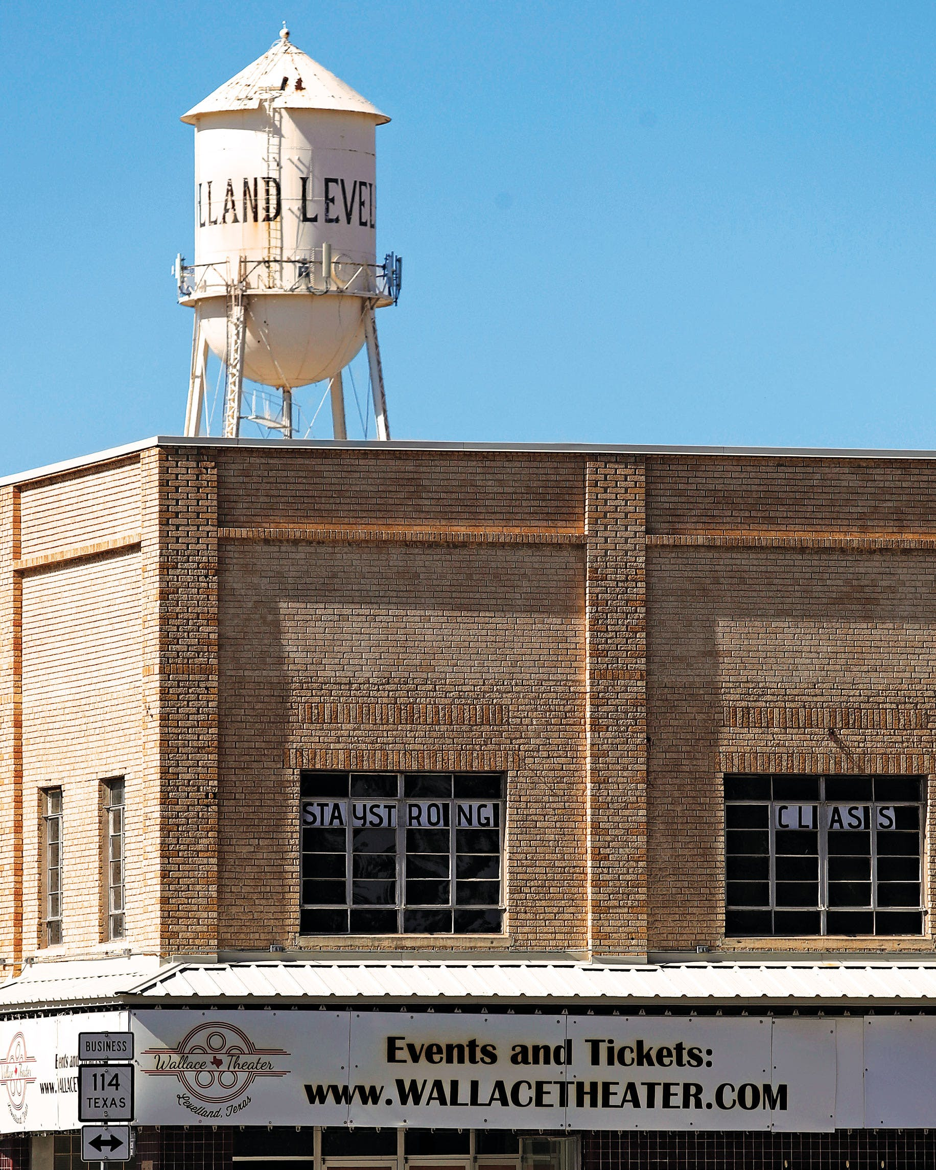 Downtown Levelland on May 9, 2020.