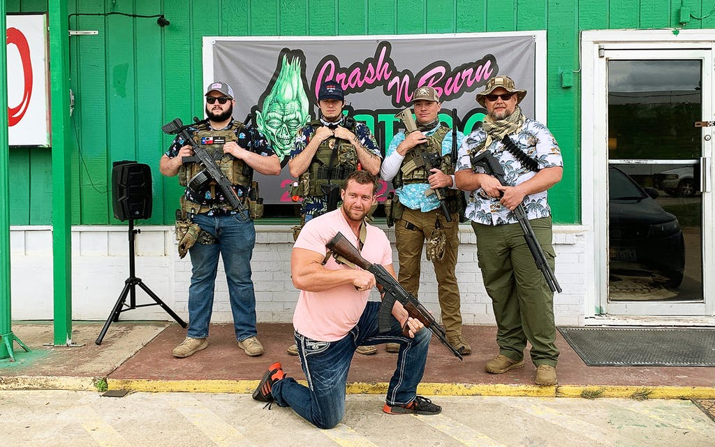 The 29-Year-Old Bodybuilder Behind the Armed Effort to Reopen Texas