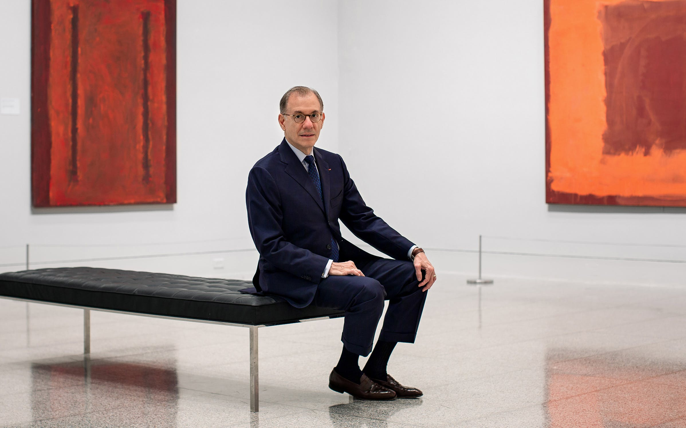 Gary Tinterow at the Museum of Fine Arts in Houston