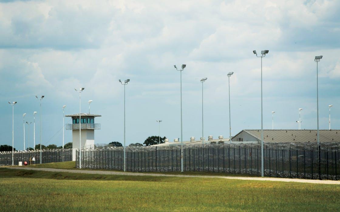 The George Beto Prison Unit near Palestine, Texas.