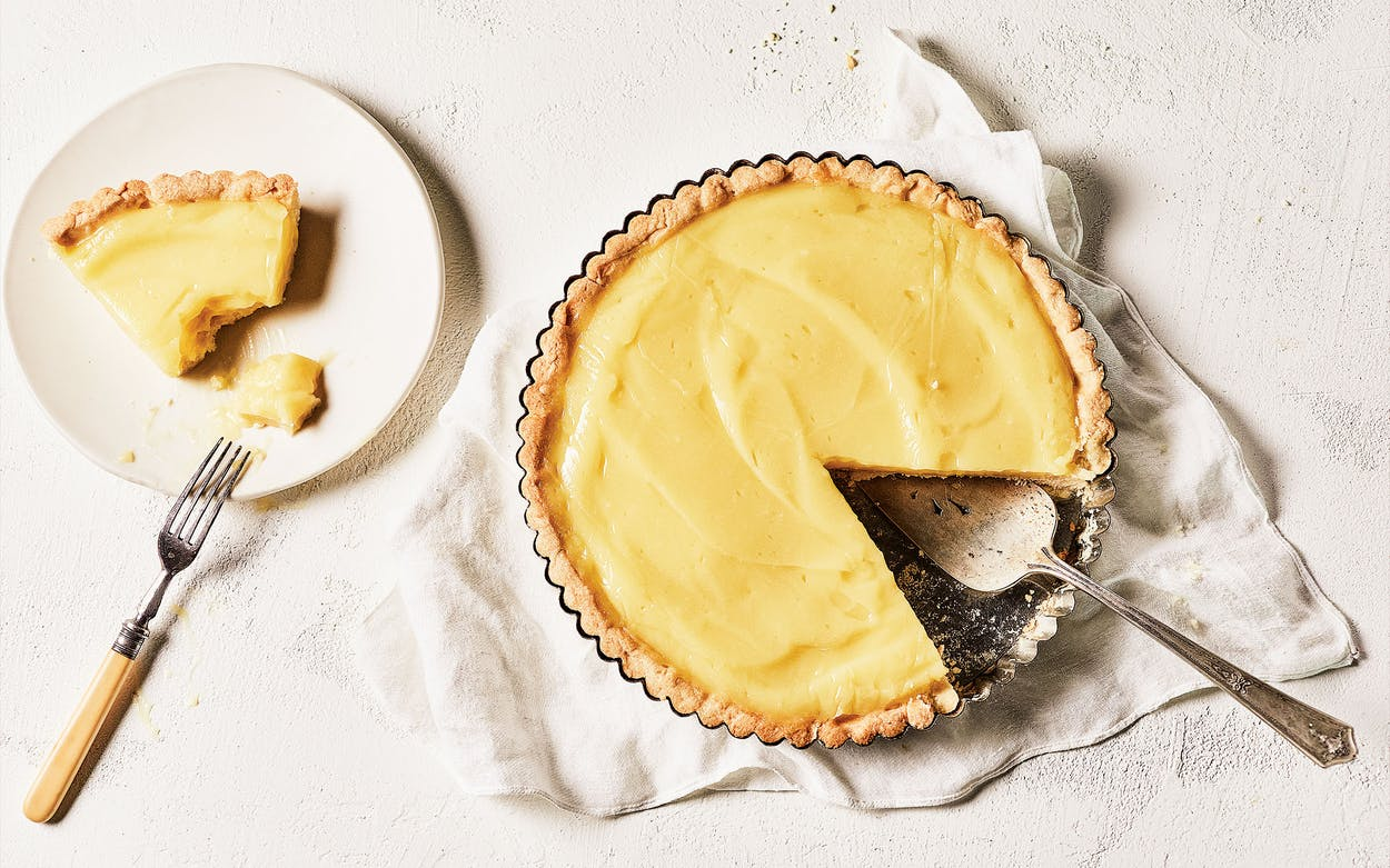 Vinegar Pie from Cook Like a Local by Chris Shepherd and Kaitlyn Goalen.