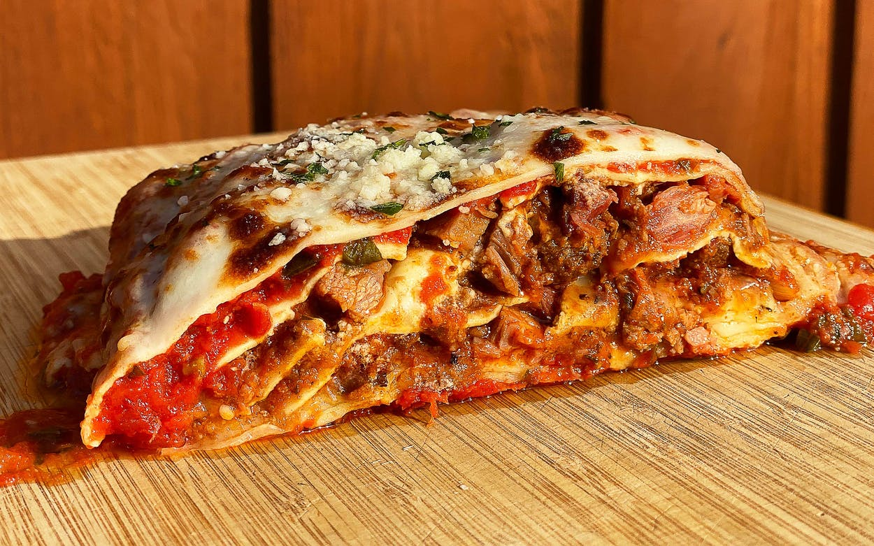 zolis brisket lasagna