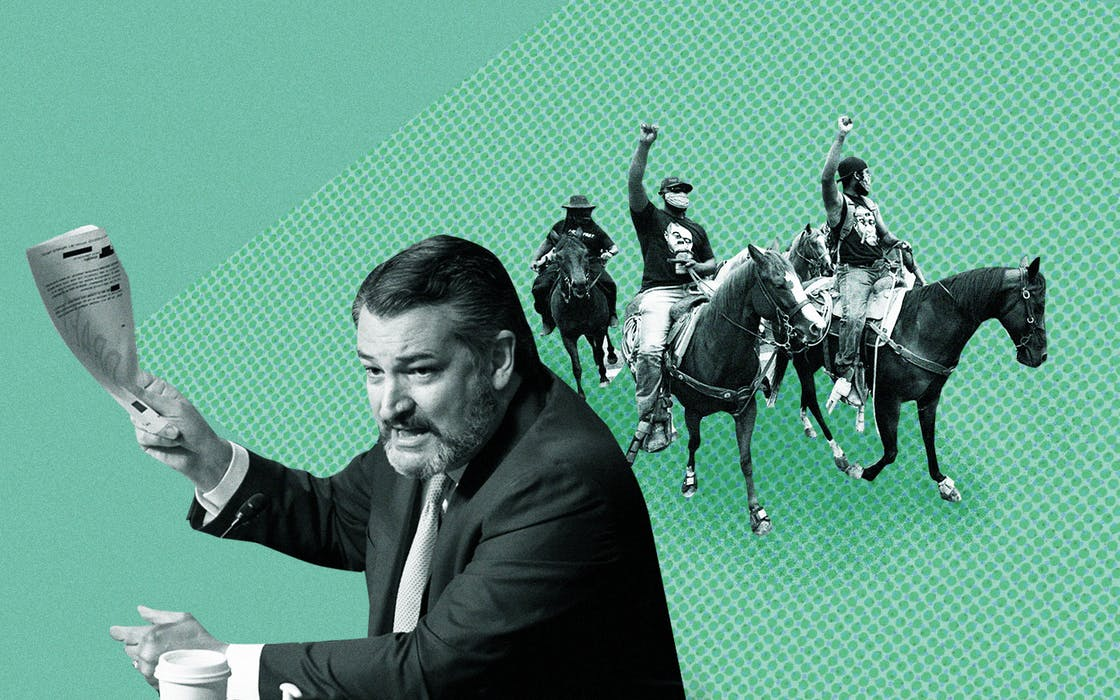 ted cruz and the trailriders
