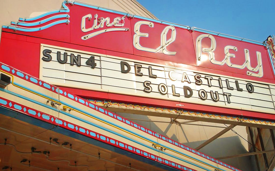 McAllen cine el rey theatre exterior