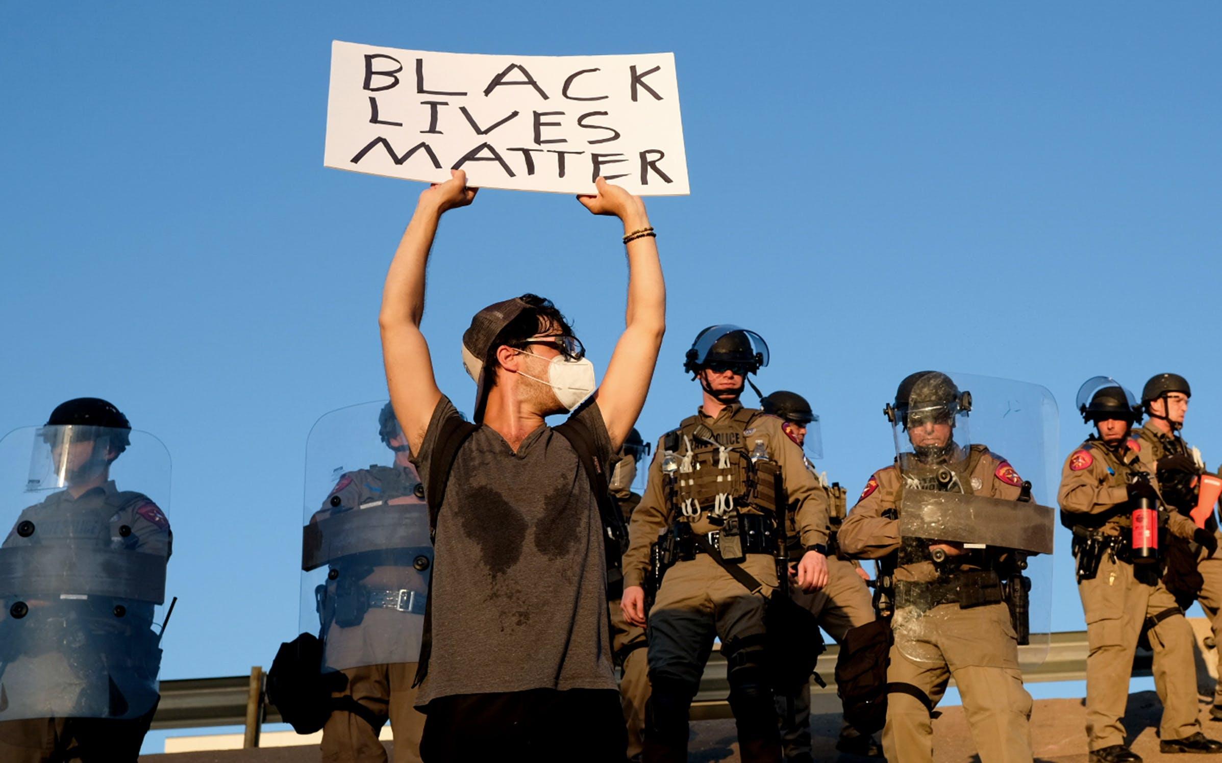 austin protests