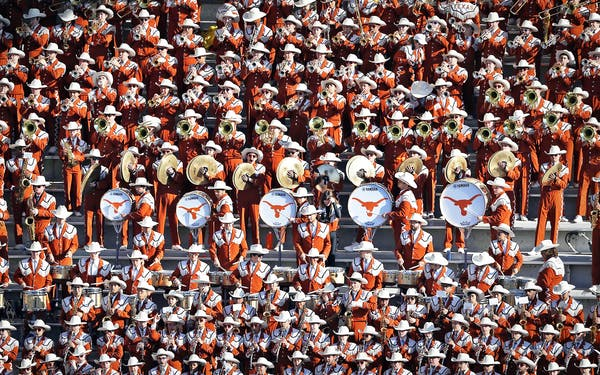 university of texas at austin marching band