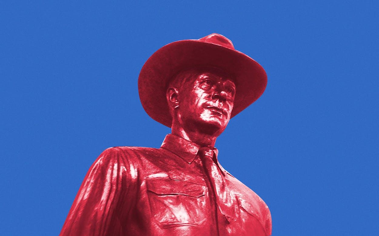 one-riot-one-ranger-statue-dallas-lovefield