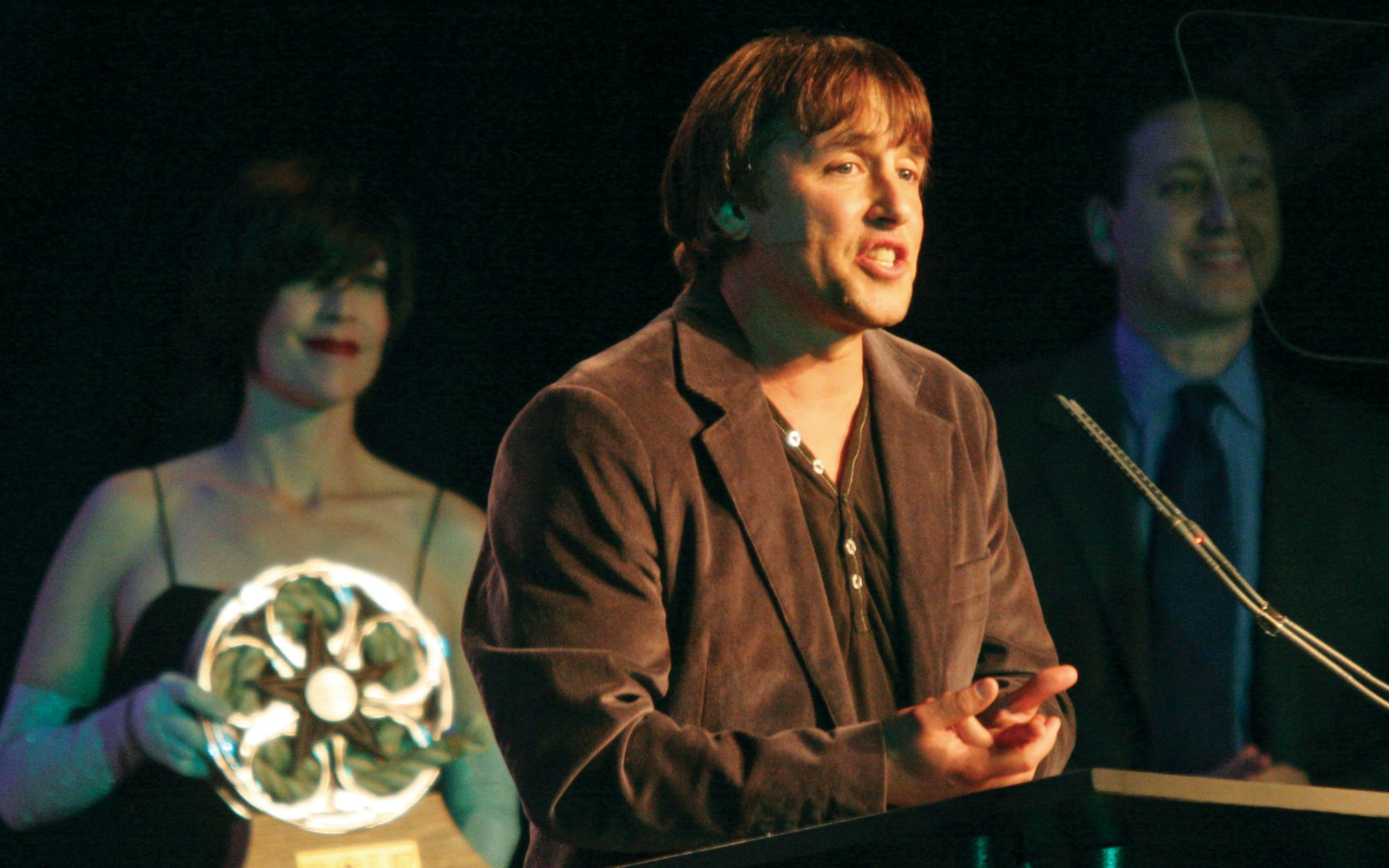 Richard Linklater at the Texas Film Hall of Fame