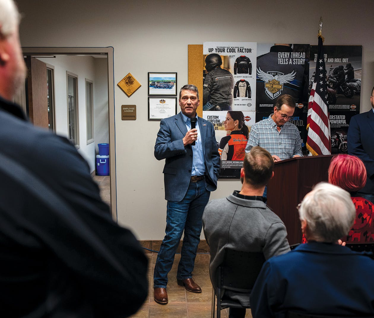 ronny jackson at a tea part candidate forum
