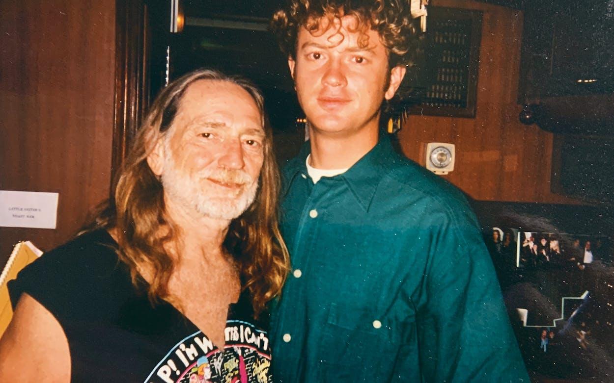 Willie Nelson and John Spong