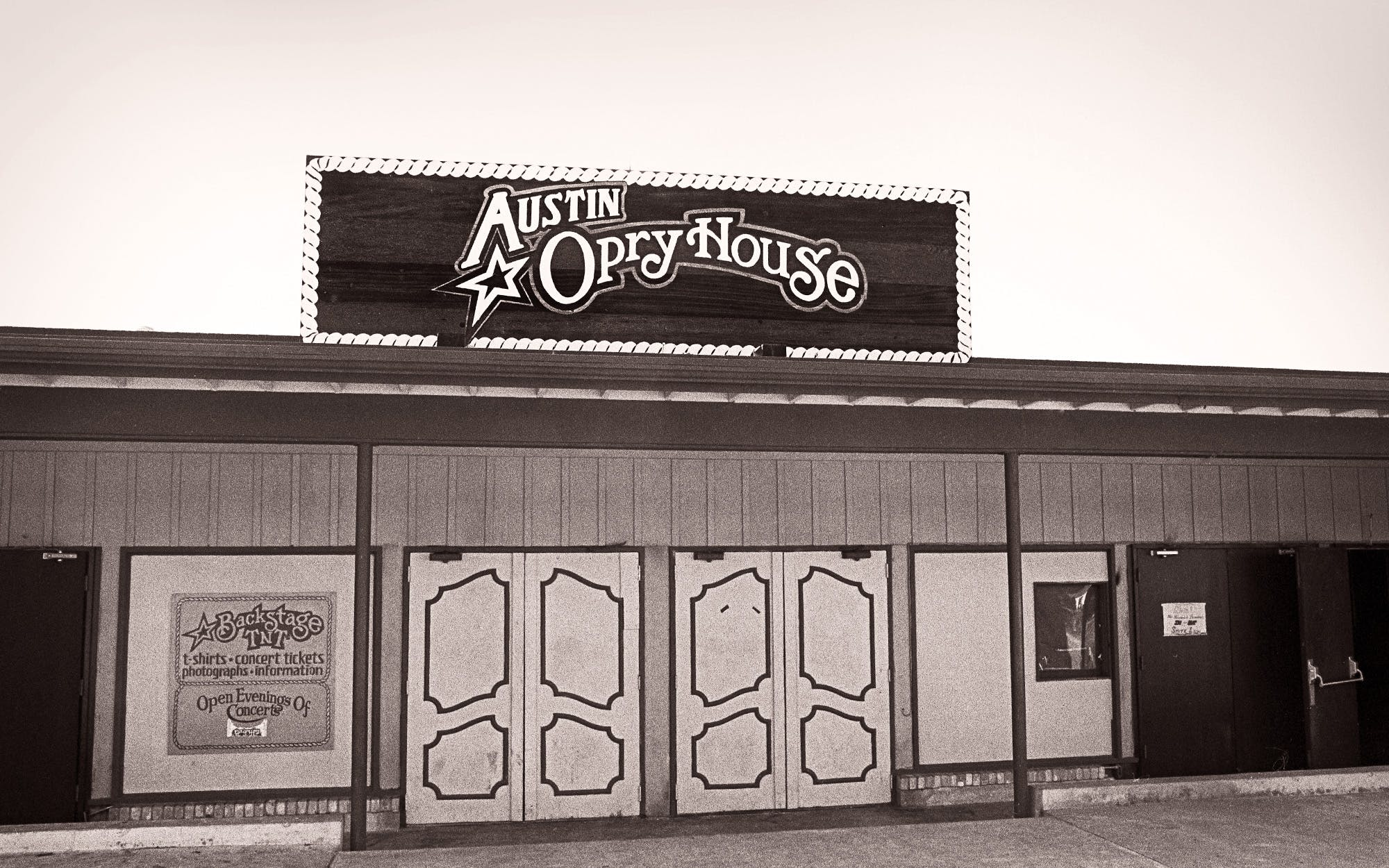 Austin Opry House's exterior