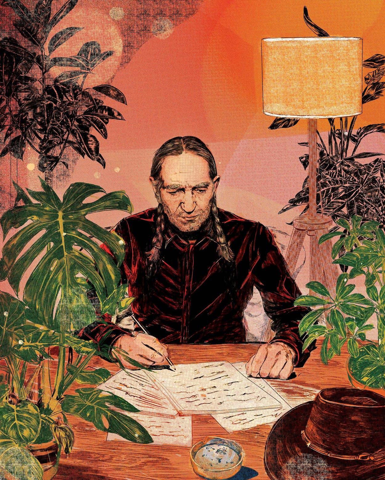 willie-nelson-songwriter-illustration-by-nicole-rifkin