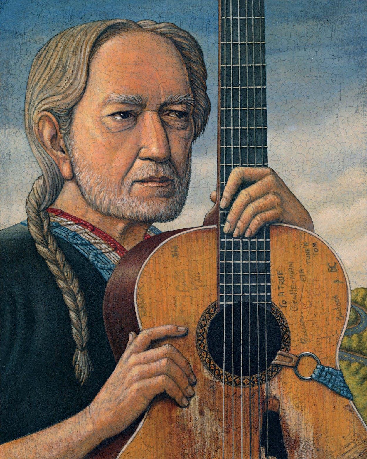 Willie Nelson Guitarist