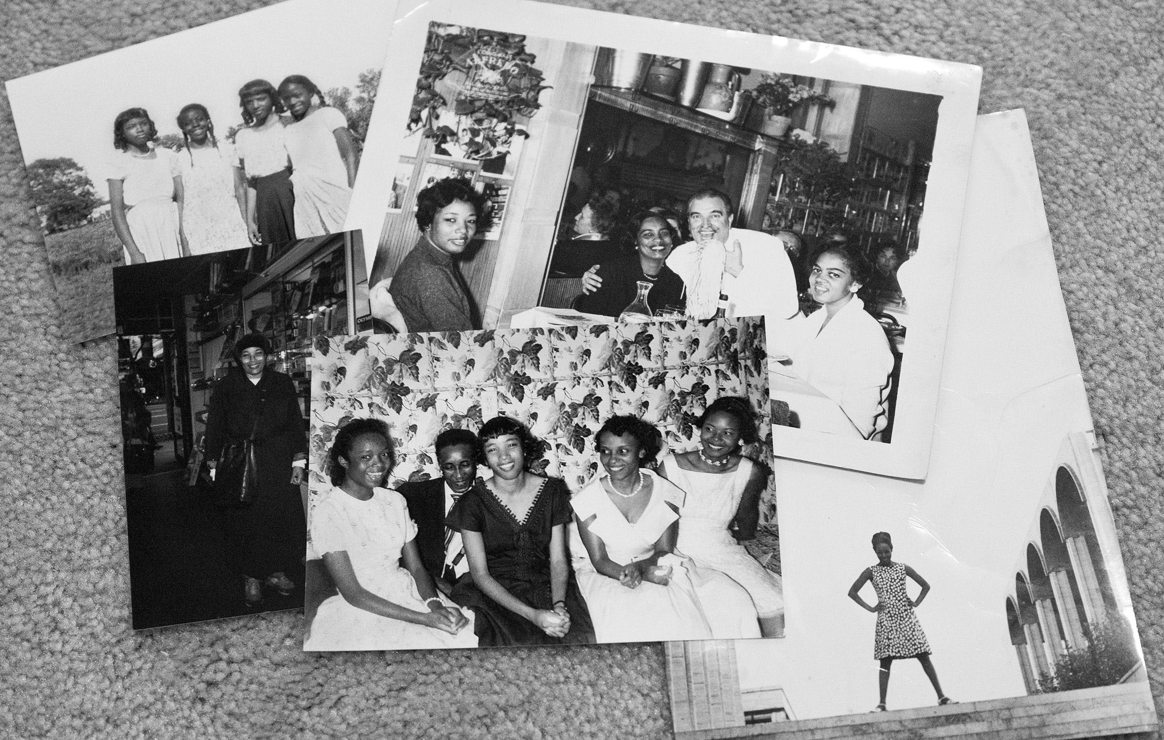 A small collection of Vivian's photographs from her childhood in Texas and her publishing days in New York.