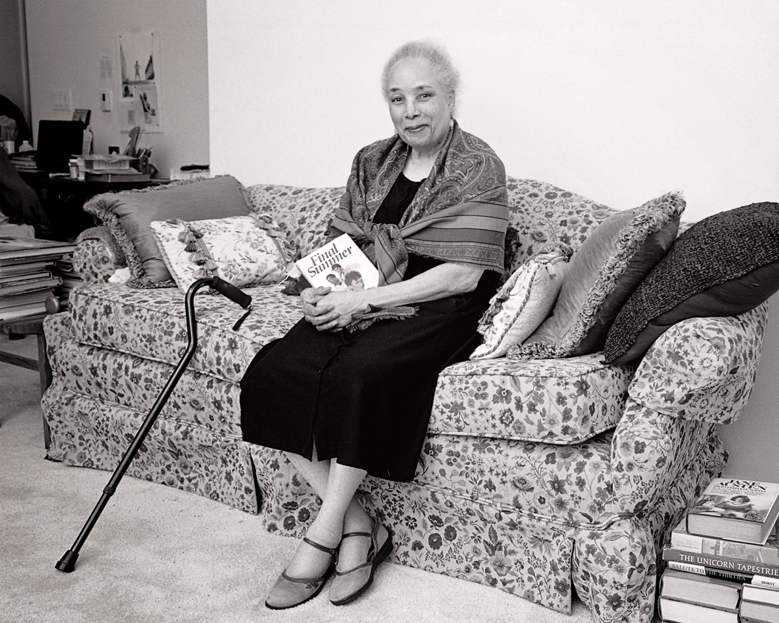 Vivian Stephens at her Houston home in July.