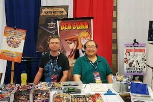 Ben Dunn comic convention