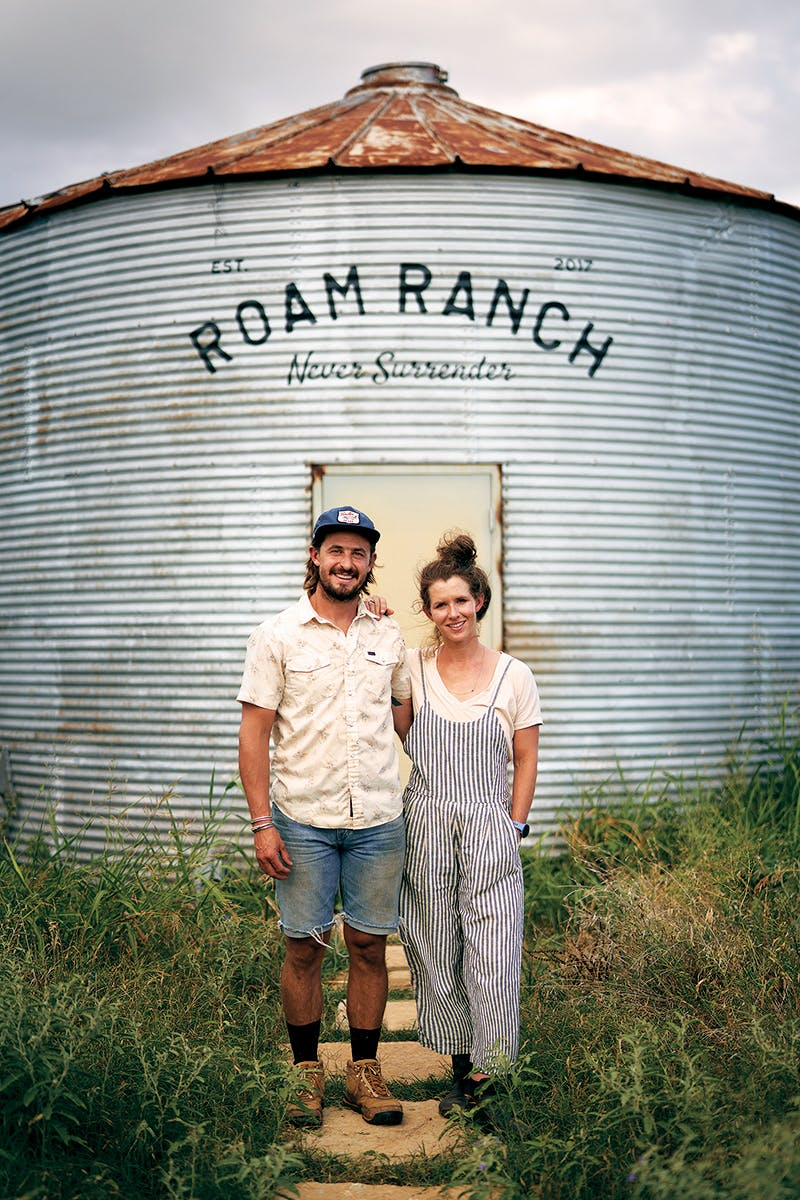 Taylor Collins and Katie Forrest Roam Ranch
