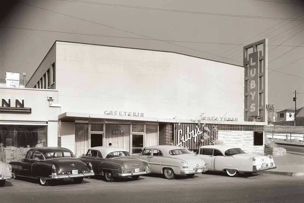 Luby's in San Antonio's Alamo Heights in 1955.