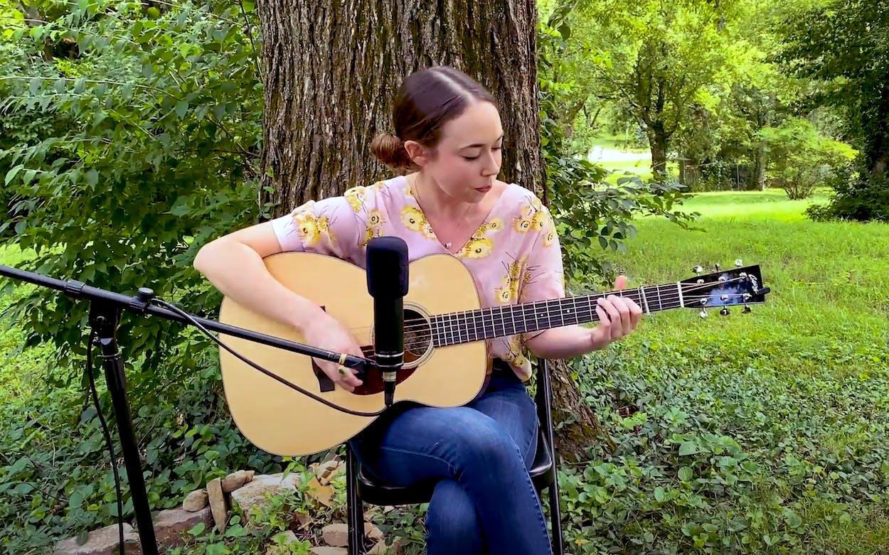 Sarah Jarosz sound check video