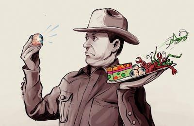 texanist eats weird foods