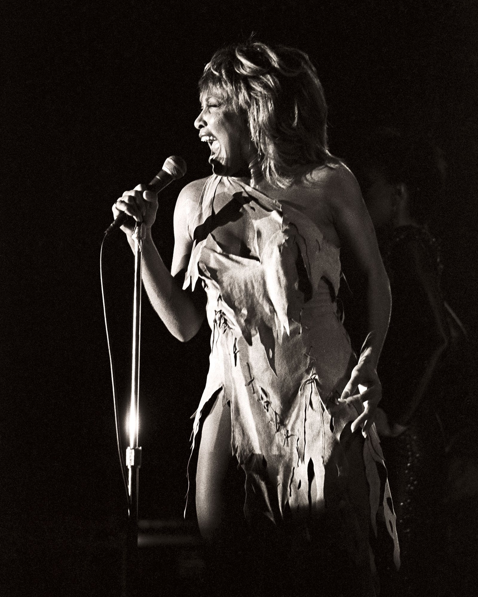 Tina Turner at the Opry House in 1983.