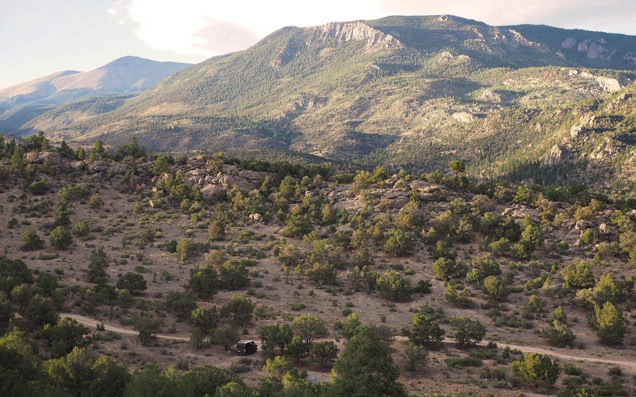Campervan Buena Vista Colorado