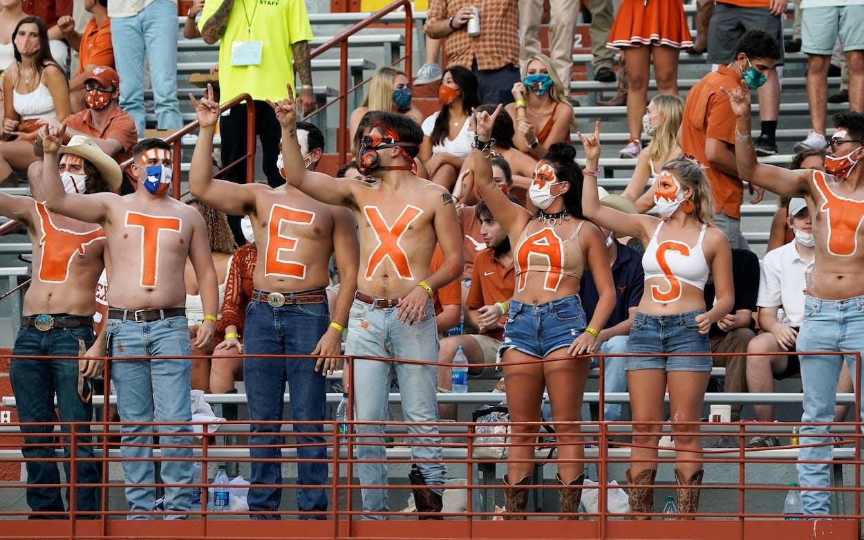 texas college football pandemic